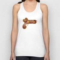 arsenal Tank Tops featuring The Leecher by Katie Lawter