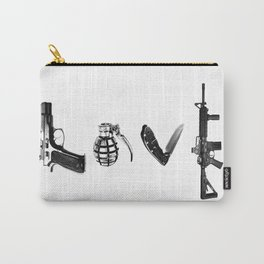 All's Fair in Love and War Carry-All Pouch