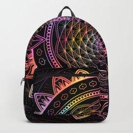 Mandala Infinite Dream Spiritual Zen Bohemian Hippie Yoga Mantra Meditation Backpack