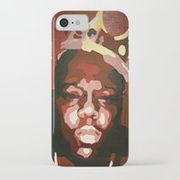 notorious big iPhone & iPod Cases featuring Notorious Big by The Art Of Gem Starr