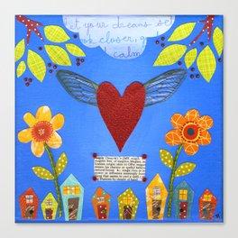 Magic Heart Canvas Print