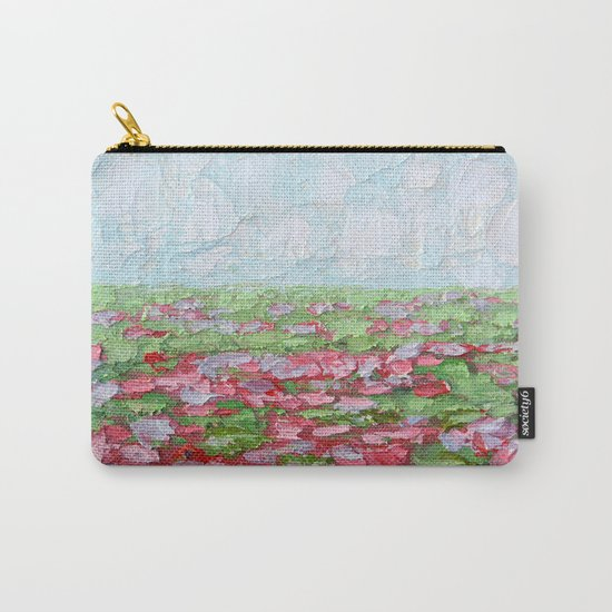 September Fields No. 2 Carry-All Pouch