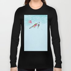 Bringing what I got [MOTH] [COLORS] [RAIN] [GIVEN] [GIVE] Long Sleeve T-shirt