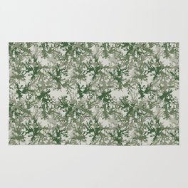 Camouflage Green Rug