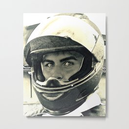 Portrait Of A Champion Metal Print