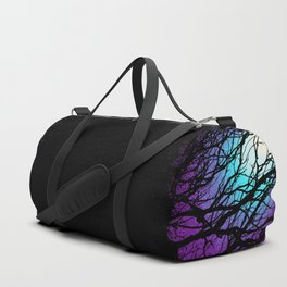 lights in the forest Duffle Bag