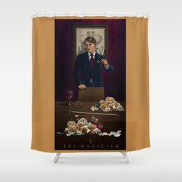I. The Magician Shower Curtain