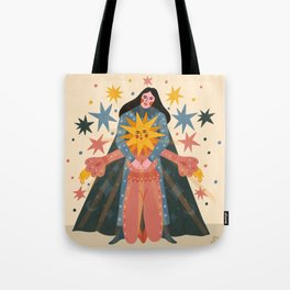 Hold Me Tight So I Can Shine Brighter  Tote Bag