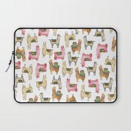 Llama love / Alpaca adventure wanderlust travel / animal baby nursery gift for her shower decor Laptop Sleeve