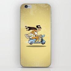 Couple on a Vespa iPhone & iPod Skin