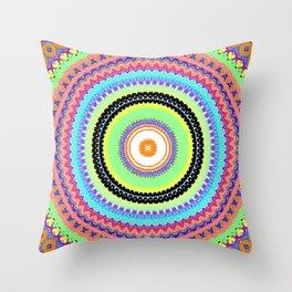 Kaleidoskop Throw Pillow