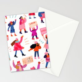 Marching Together Stationery Cards