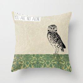Darkest Forest Throw Pillow