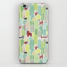 Welcome to the forest! iPhone Skin