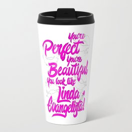 Linda Evangelista Travel Mug