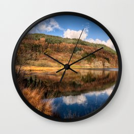 Autumn in Wales Wall Clock