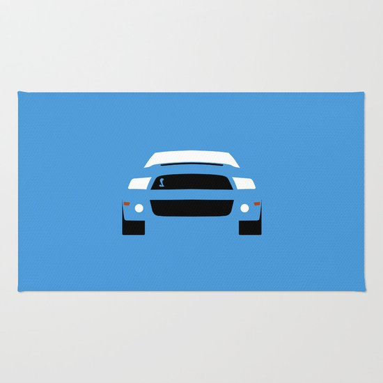 Ford Mustang Shelby GT500 ( 2013 ) Rug