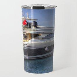 Pershing 90 Yacht Travel Mug
