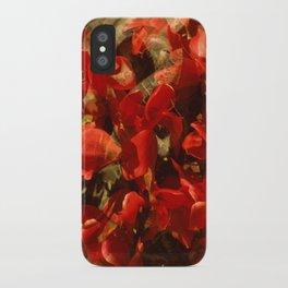 Alpenveilchenmix 1 iPhone Case