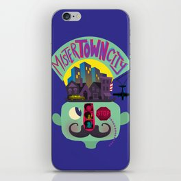 Mister Town City iPhone Skin