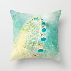 Carnival Love Throw Pillow