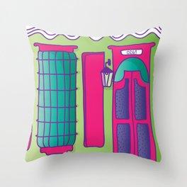 casita my home Throw Pillow