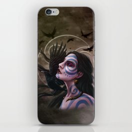 The Morrigan iPhone Skin