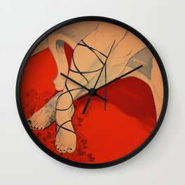 Nothing But Flowers Wall Clock