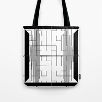 math Tote Bags featuring Math by CrypticFragments Design