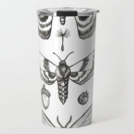 Natural History (Black) Travel Mug