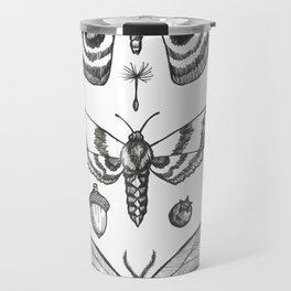 Natural History (Black) Travel Mug