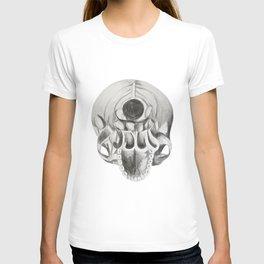 inferior side of skull T-shirt
