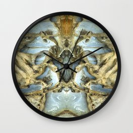 Natures Rock Monsters Wall Clock