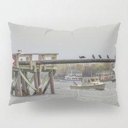 Cormorants on the Greasy Pole Pillow Sham