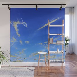 Fly, in the sky, like a butterfly ... Wall Mural