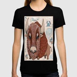 American Buffalo Bison Southwest Southwestern T-shirt