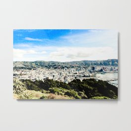 Wellington from Mt Vic 2 Metal Print
