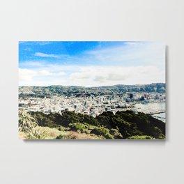 Wellington from Mt Vic 2 Metal Print