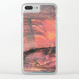 Sonnenuntergang Clear iPhone Case