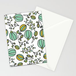 Flowing Floral Stationery Cards