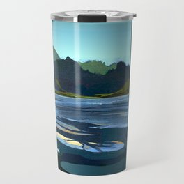 Low Tide, Late Evening Travel Mug