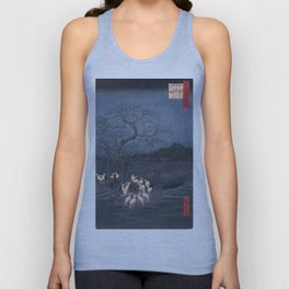 Utagawa Hiroshige - New Year's Eve Foxfires at the Changing Tree Unisex Tank Top