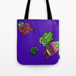 Jump Tote Bag