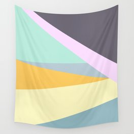 Abstract Triangle Stripes Wall Tapestry