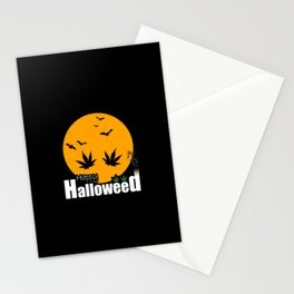 Happy Halloweed Stationery Cards