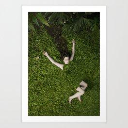 Green Mareen Art Print
