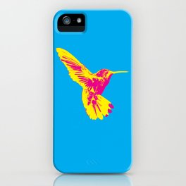 CMY Bird iPhone Case