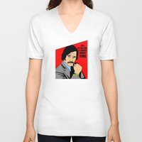 will ferrell V-neck T-shirts featuring 60% of the time it works, every time - Brian Fantana by Buby87