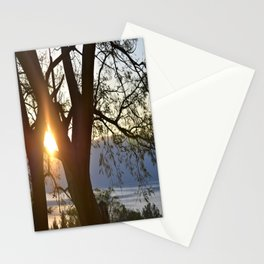 Peaking Sun Stationery Cards