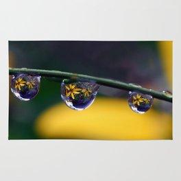 tripple yellow petals Rug